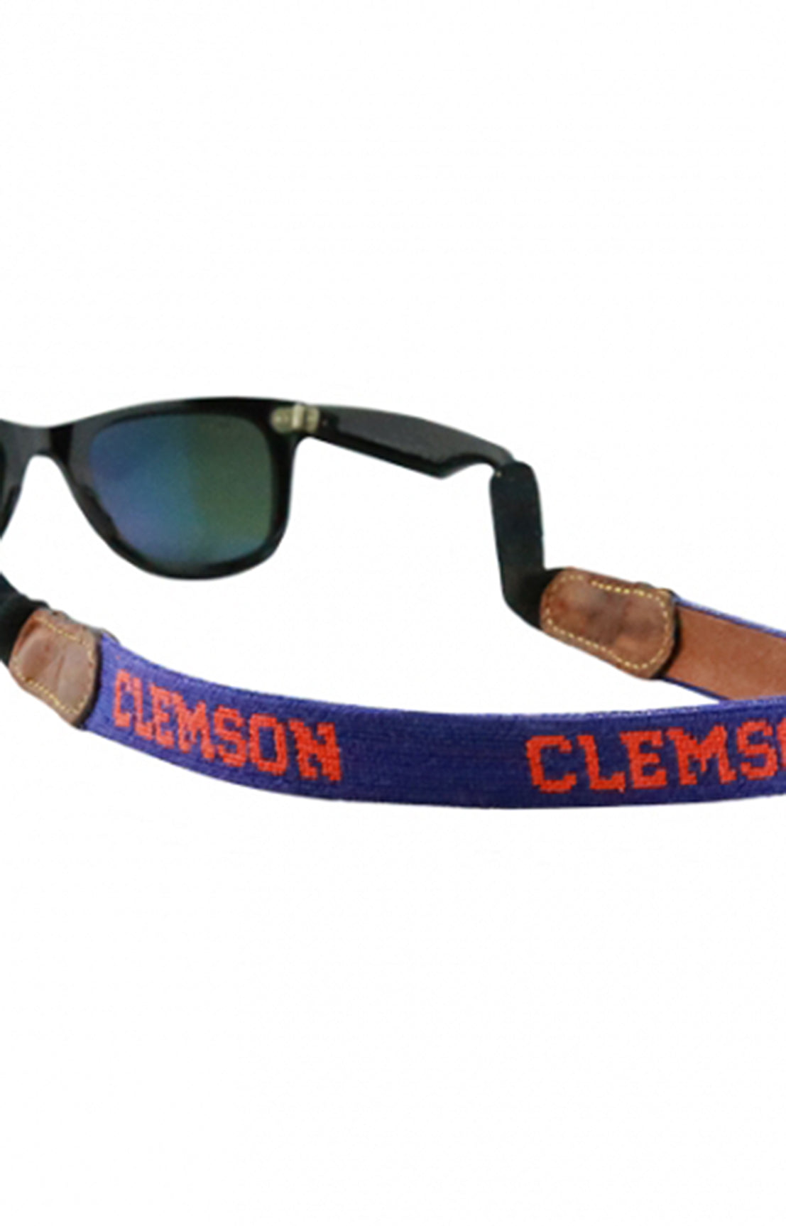 CLEMSON SUNGLASS STRAP - PURPLE