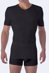 HIGH VNECK COOL COTTON TSHIRT