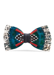 ARBOR FEATHER BOW TIE
