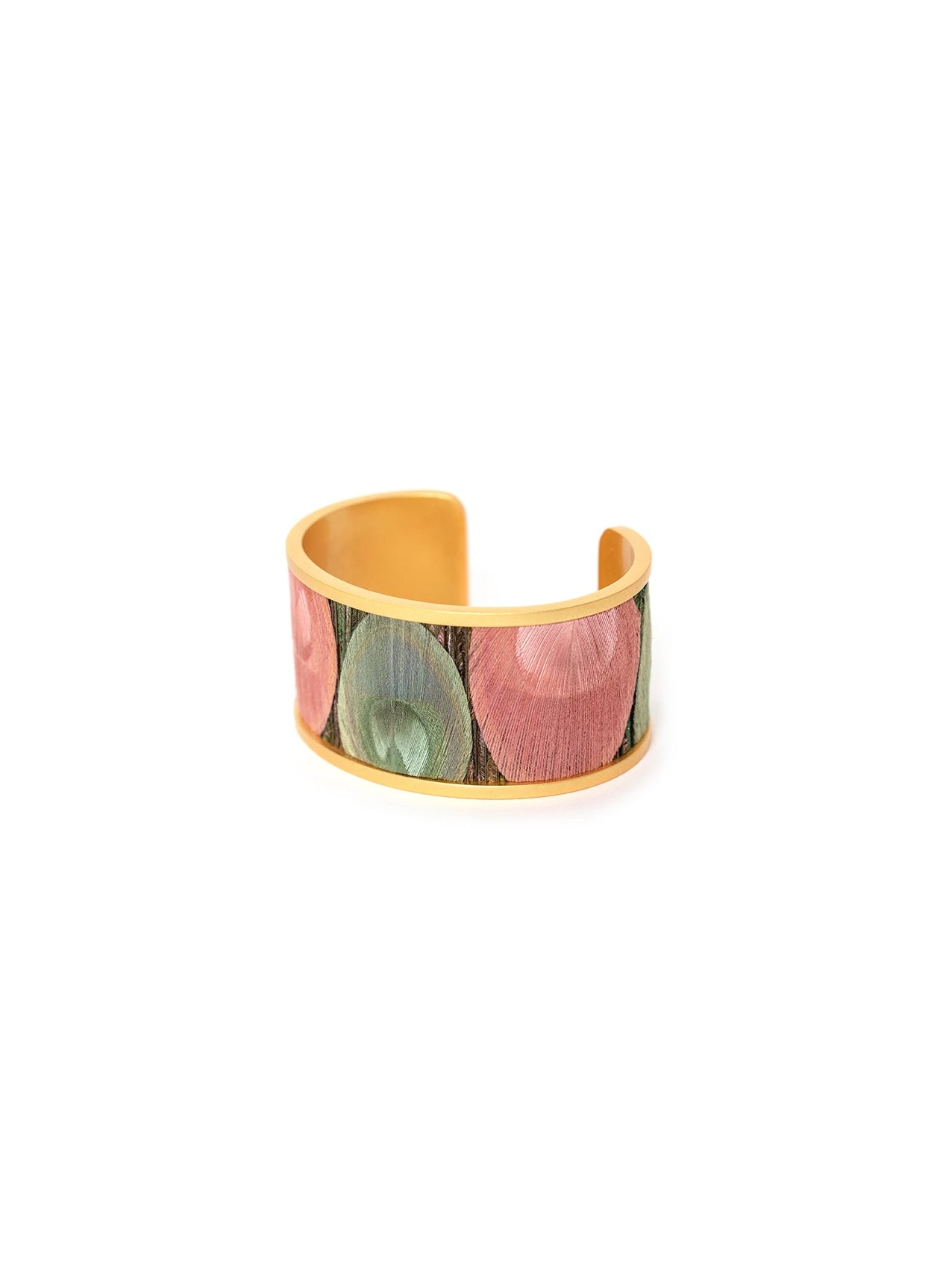 BIG BAND WIDE FEATHER CUFF