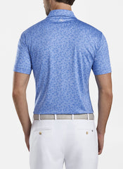 MILESTONES PERFORMANCE JERSEY POLO - BLUEBELL