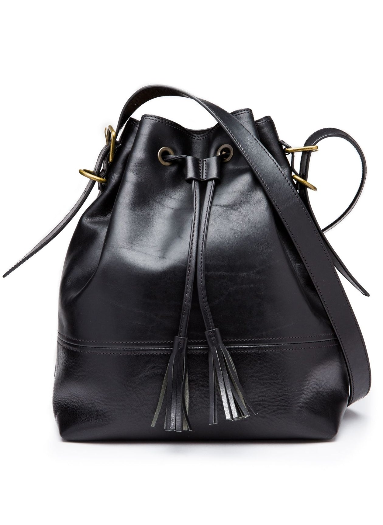 DOLCE CLASSIC BUCKET BAG - BLACK