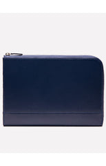 CAPRA MEDIUM ZIP POUCH - MARINE BLUE