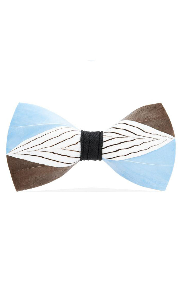 COKER FEATHER BOW TIE