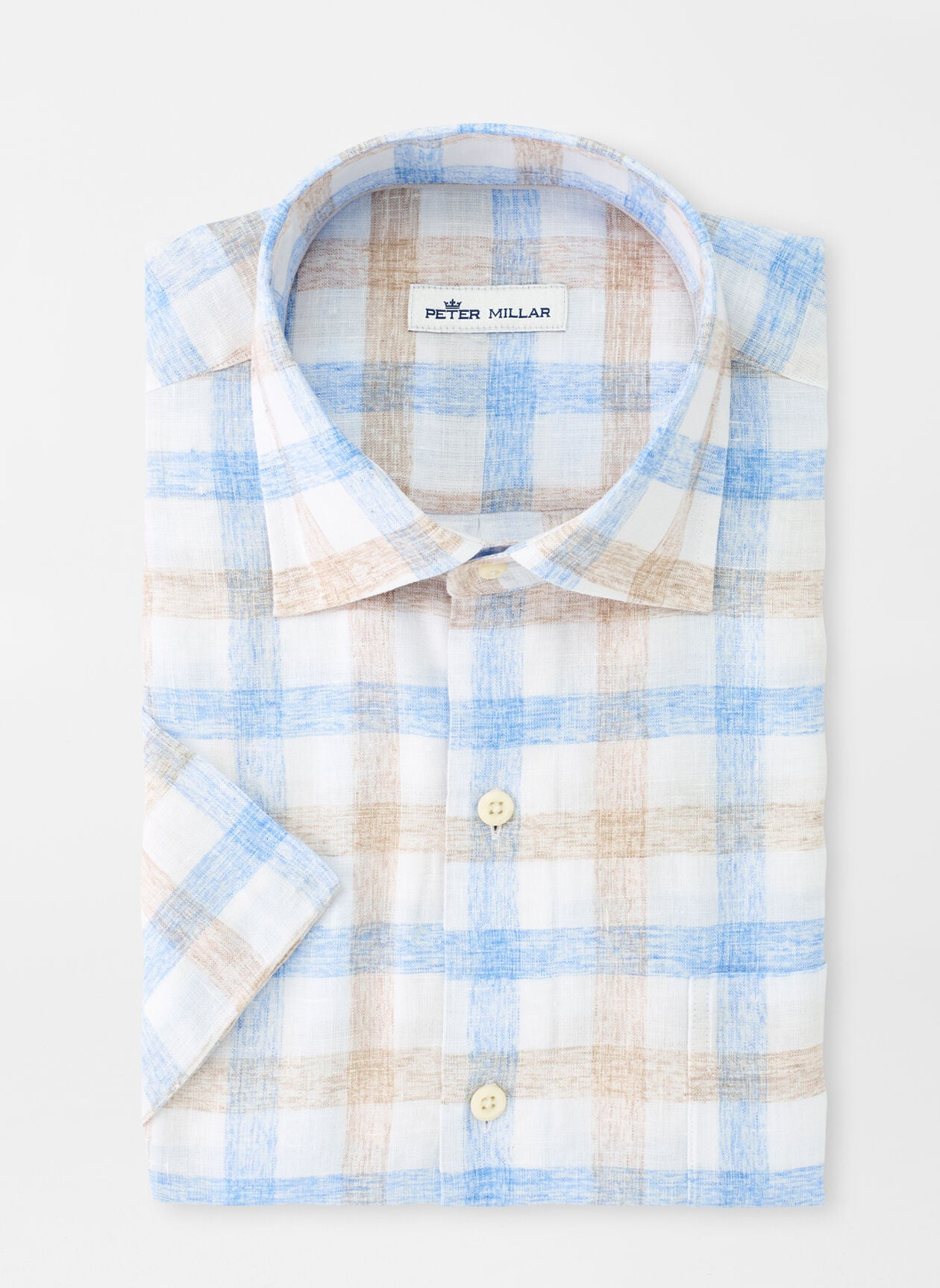 CROWN COOL MATEO SHIRT - COTTAGE BLUE