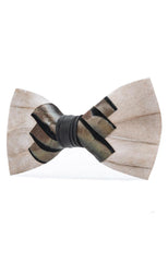 PAWLEY FEATHER BOW TIE