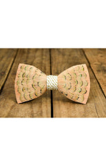 HUDSON FEATHER BOW TIE