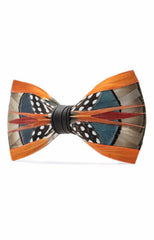 MAYFLY FEATHER BOW TIE