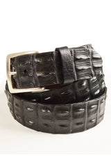 made in usa mens crocodile belt