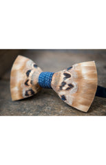 SULLIVAN FEATHER BOW TIE