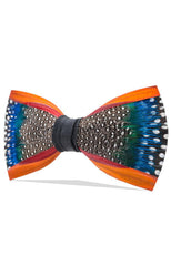 MILL POND FEATHER BOW TIE