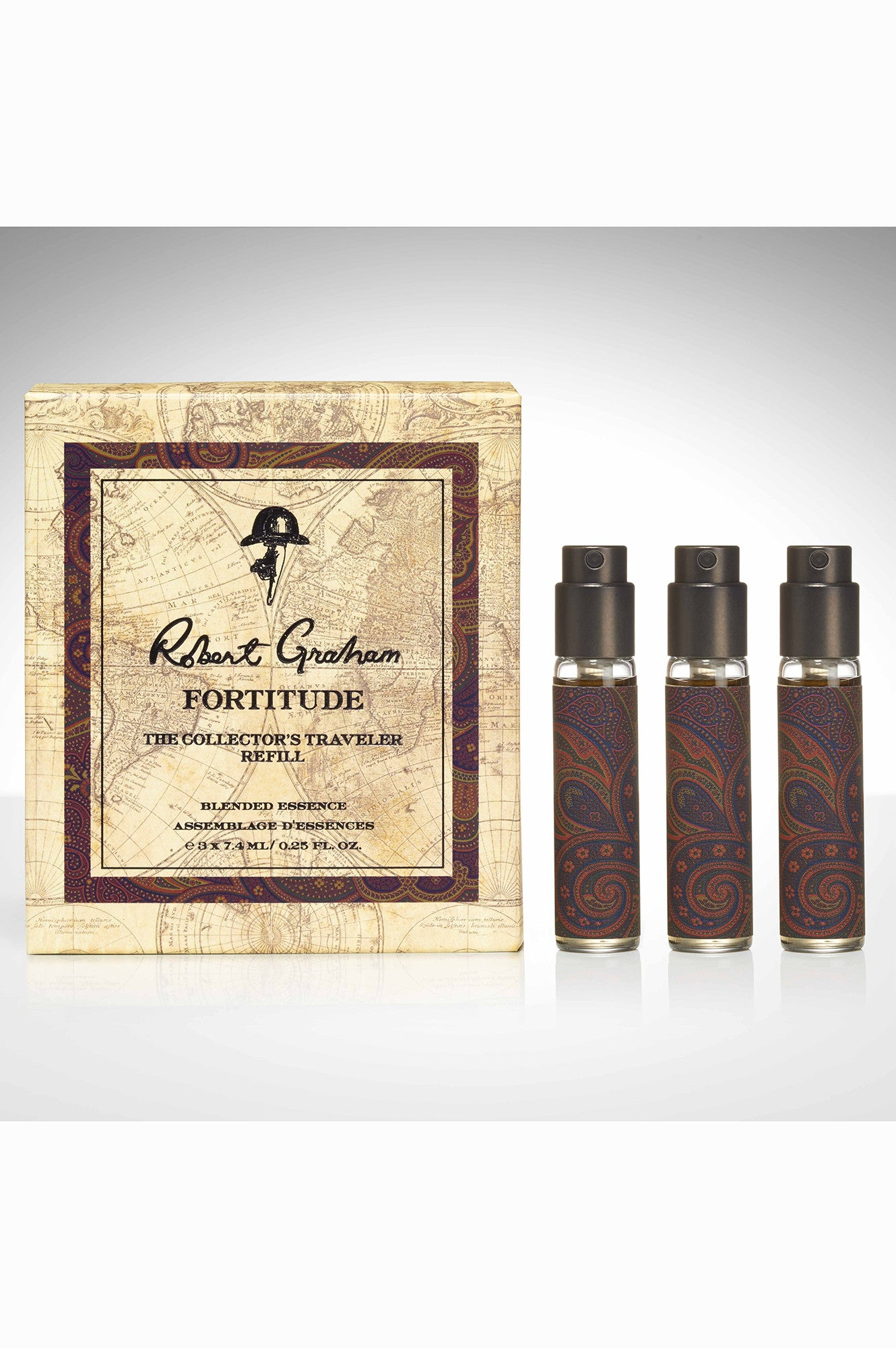 TRAVELER SET REFILL ROBERT GRAHAM ESSENCE FORTITUDE