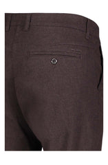 LENNOX SMALL PATTERN JEANS - CHOCOLATE MINI