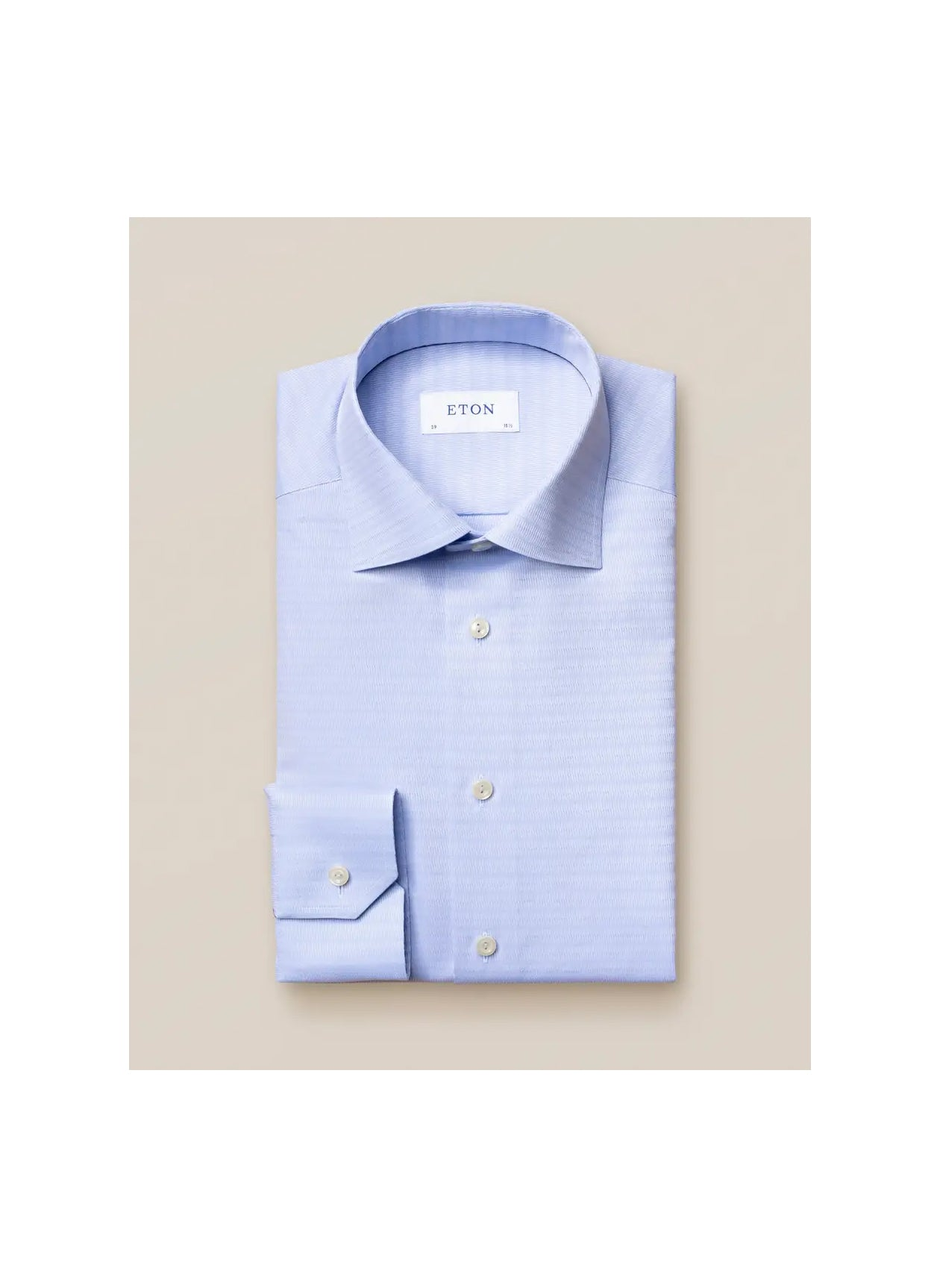 LIGHT BLUE OMBRE WEAVE SHIRT
