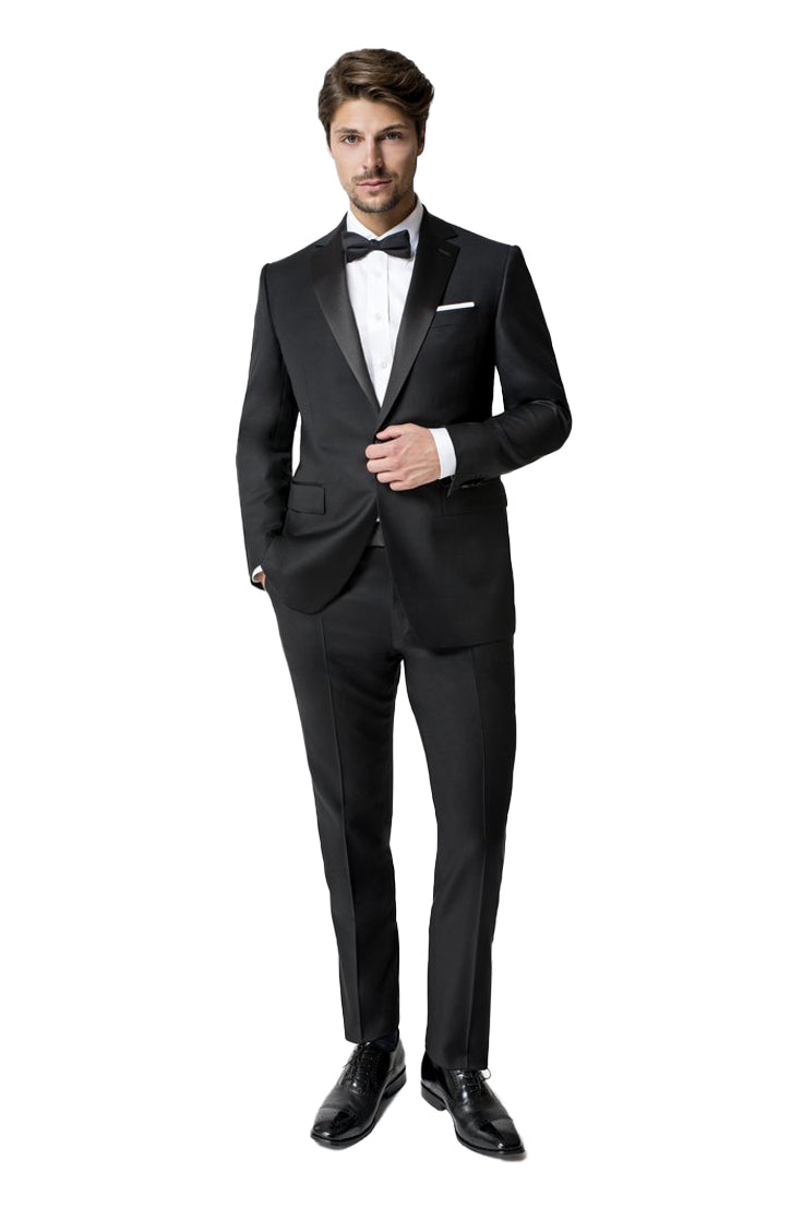 NELSON/FLORENCE CLASSIC FIT TUXEDO - BLACK