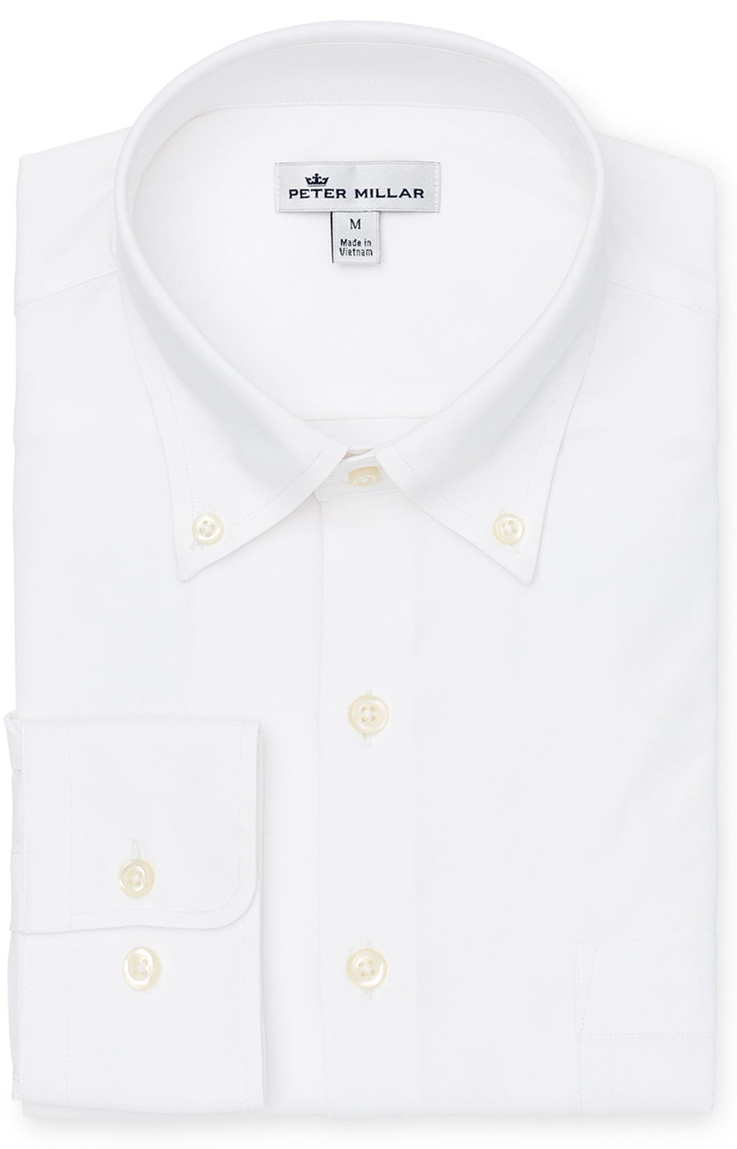 peter millar performane shirt, white shirt by peter millar, white shirt for men by peter millar