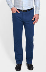 ULTIMATE SATEEN FIVE POCKET PANT - NAVY