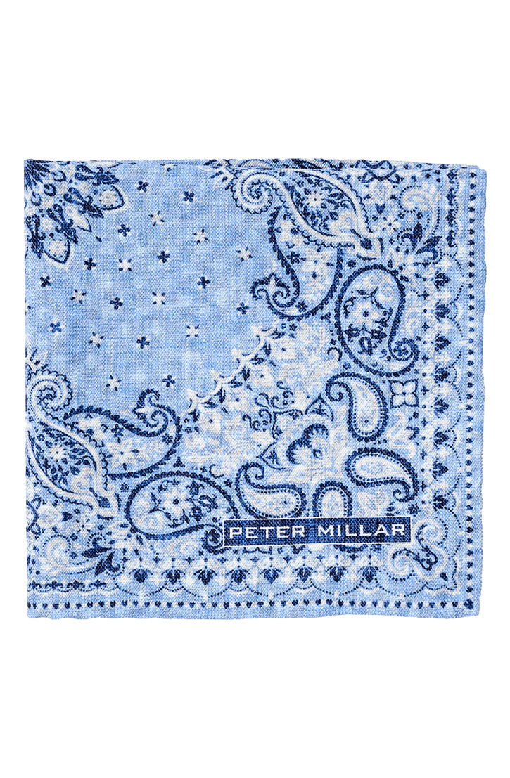 MARINA BANDANA POCKET - BLUE CIELO