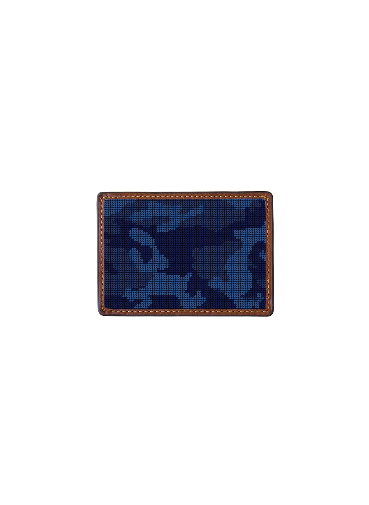 NAVY CAMO CREDIT CARD WALLET