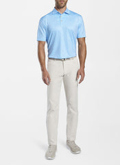 TILLIS PERFORMANCE POLO - PORCELAIN BLUE