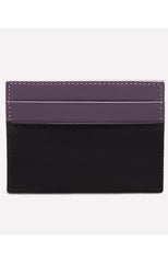 STERLING FLAT CREDIT CARD CASE - PURPLE