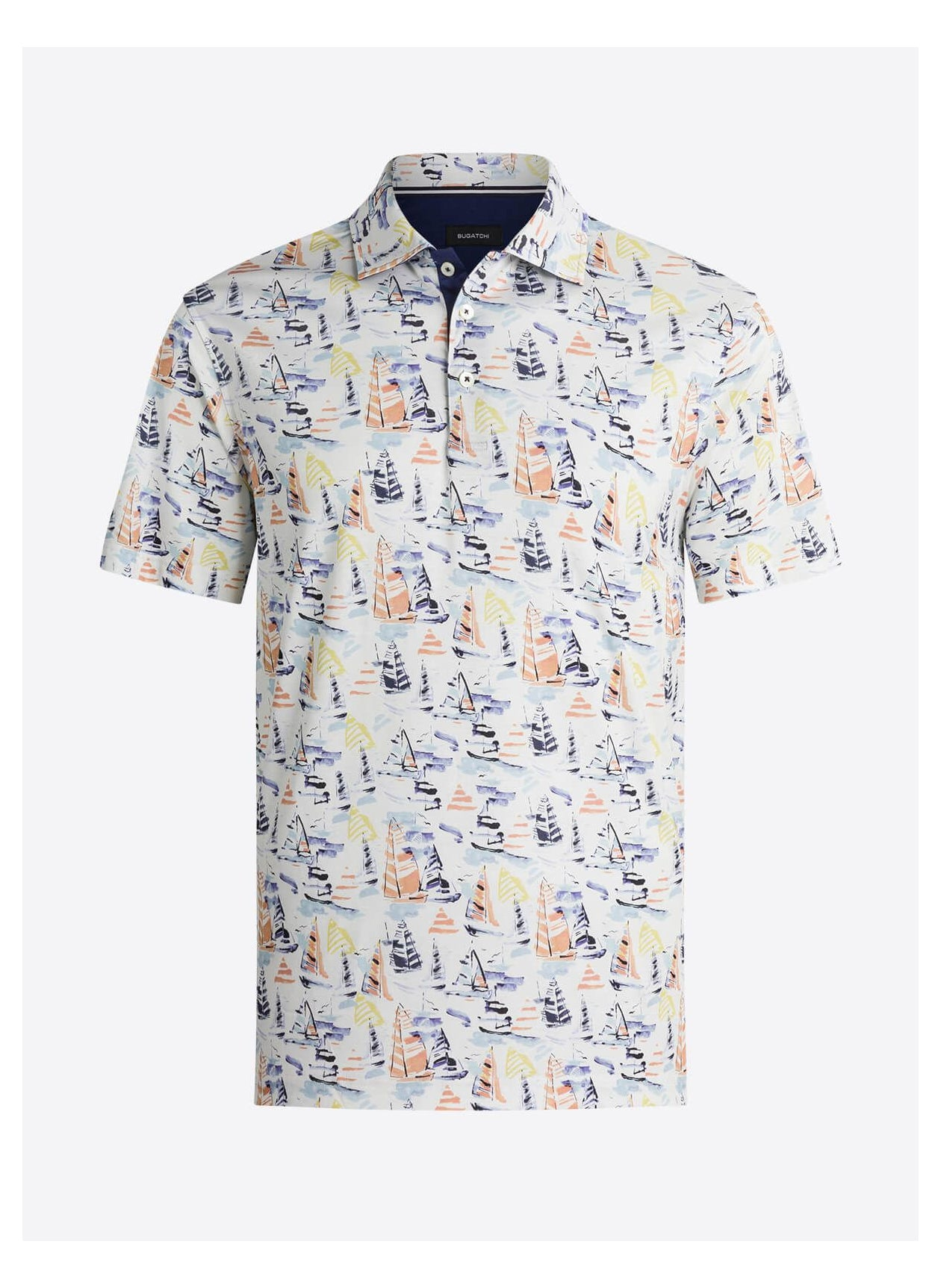 SAIL BOATS SHORT SLEEVE SHIRT