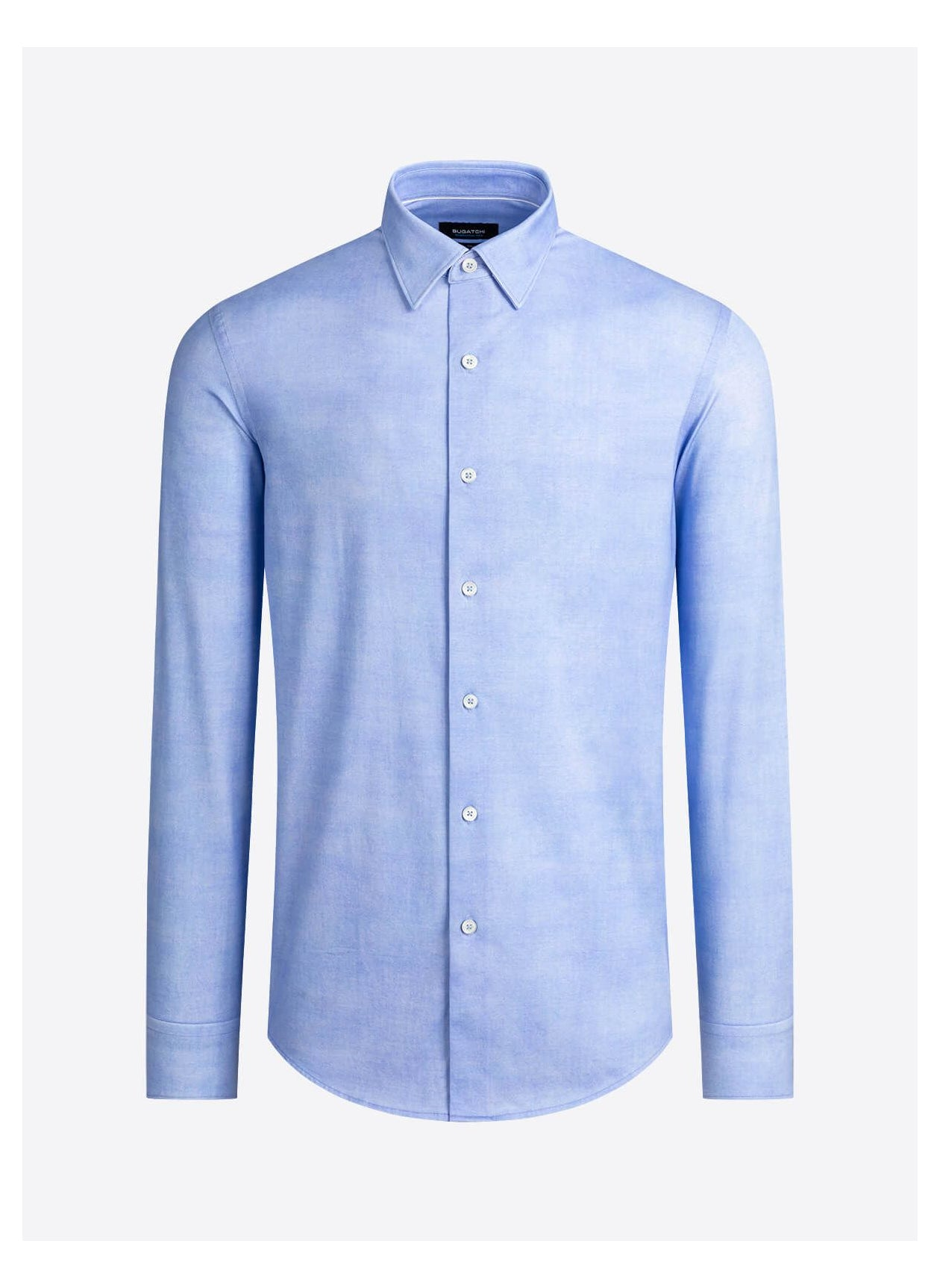 OOOHCOTTON 8 WAY STRETCH SHIRT - SKY