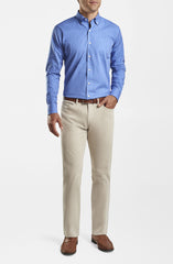 SUPERIOR SOFT CORDUROY FIVE POCKET PANT - STONE