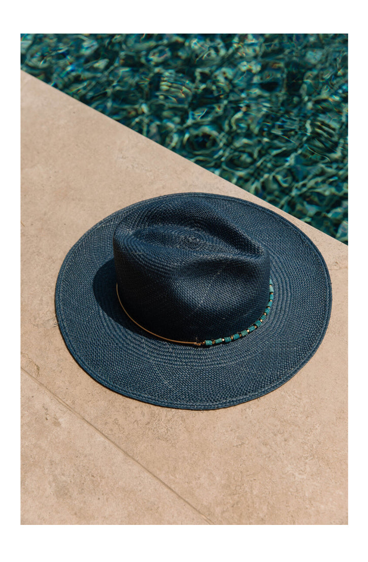 THE LEA HAT - BLUE