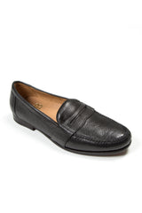 black mens penny loafers