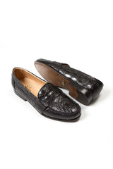 crocodile mens loafer