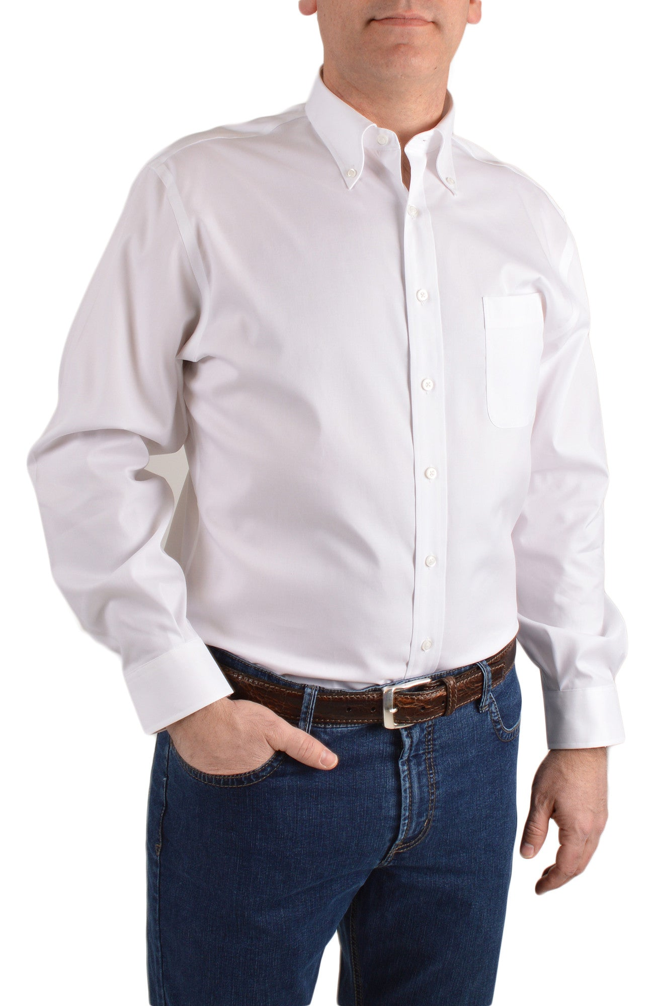 SOLID BD COLLAR SHIRT