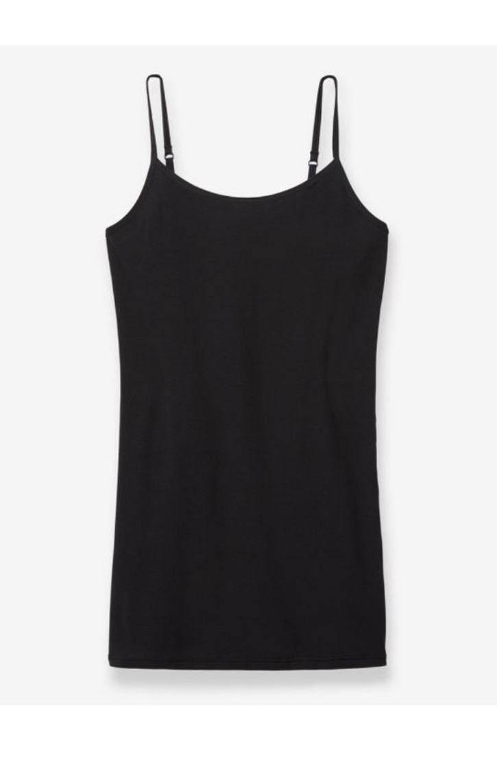 COOL COTTON STAY TUCKED CAMISOLE - BLACK