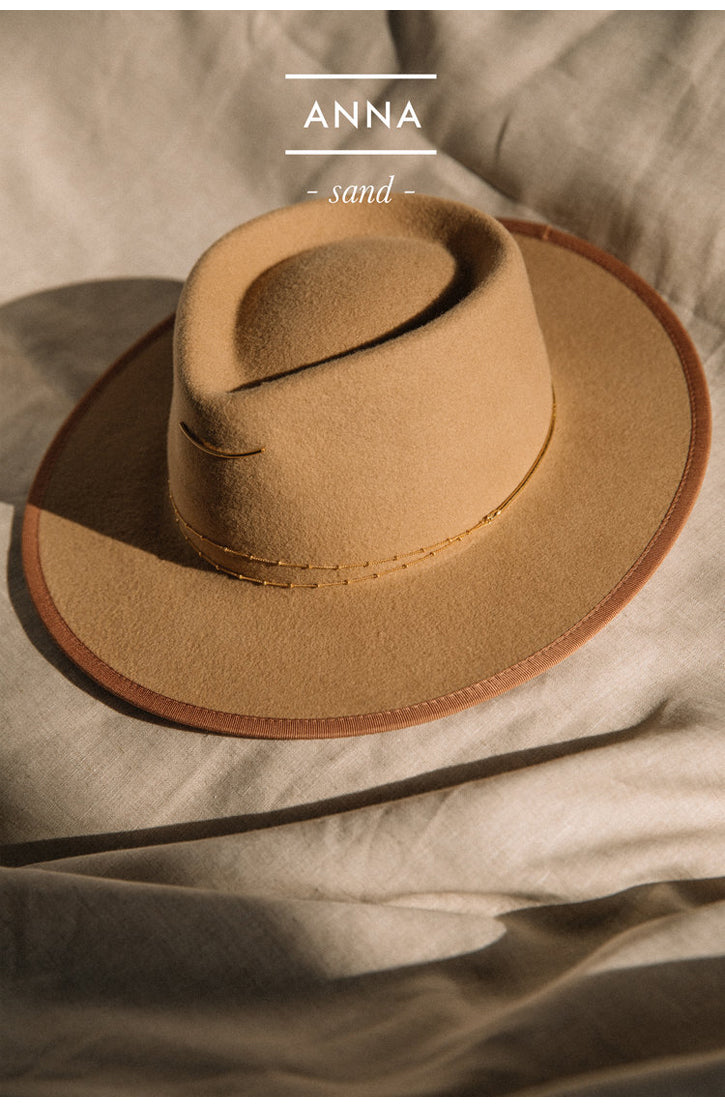 THE ANNA HAT - SAND