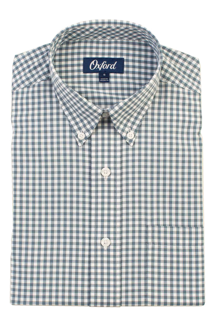 HOWELL PERFORMANCE PLAID SHIRT - BLUE MIRAGE