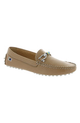 WOMEN'S DECK DRIVER SHOES - CAPPUCCINO