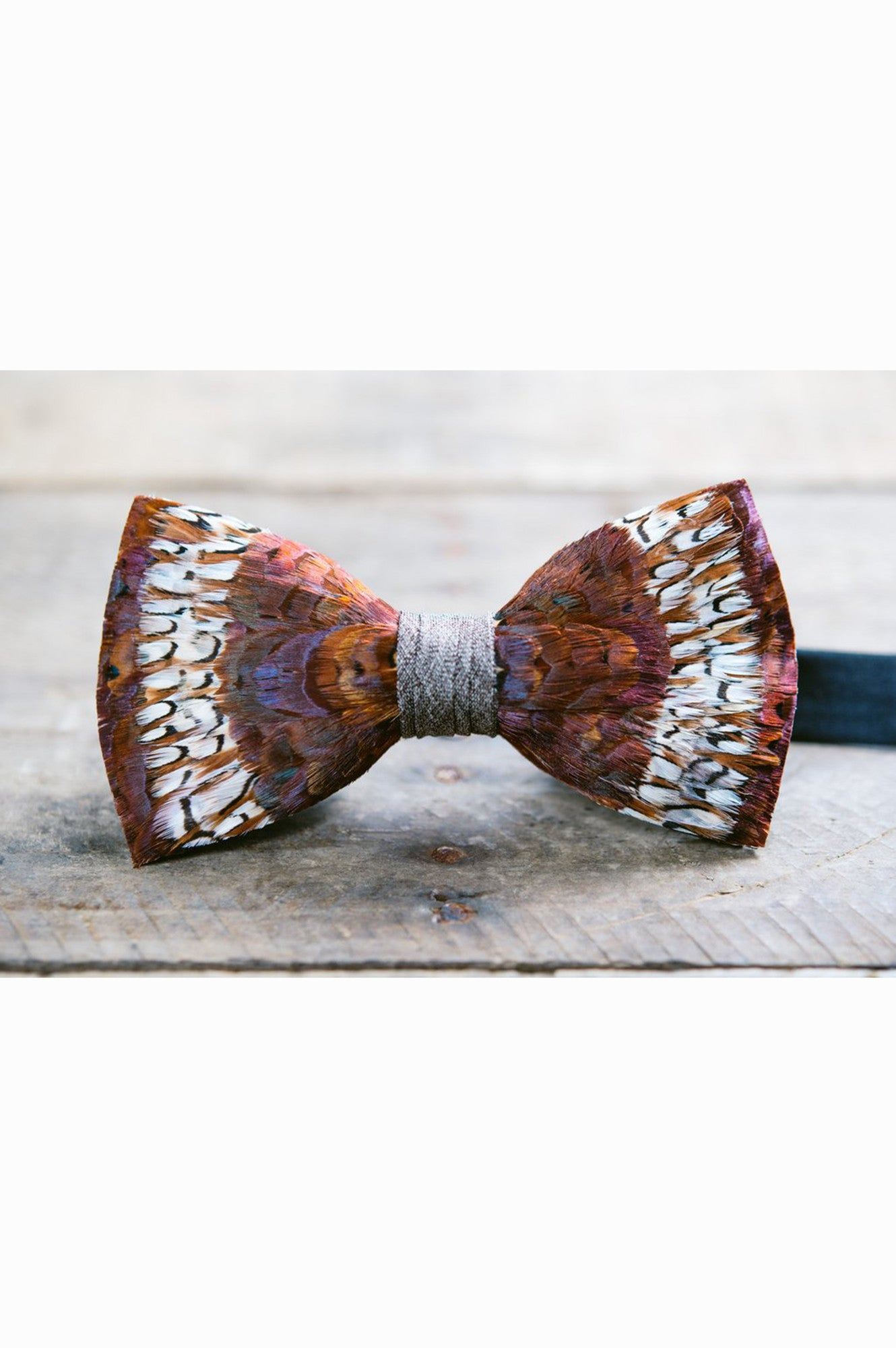 COOSAW FEATHER BRACKISH BOW TIE