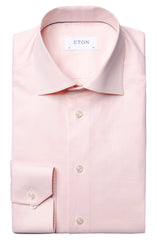 BROCADE TONAL WAVES PEACH SHIRT