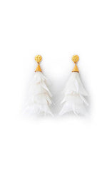 JANE FEATHER EARRINGS