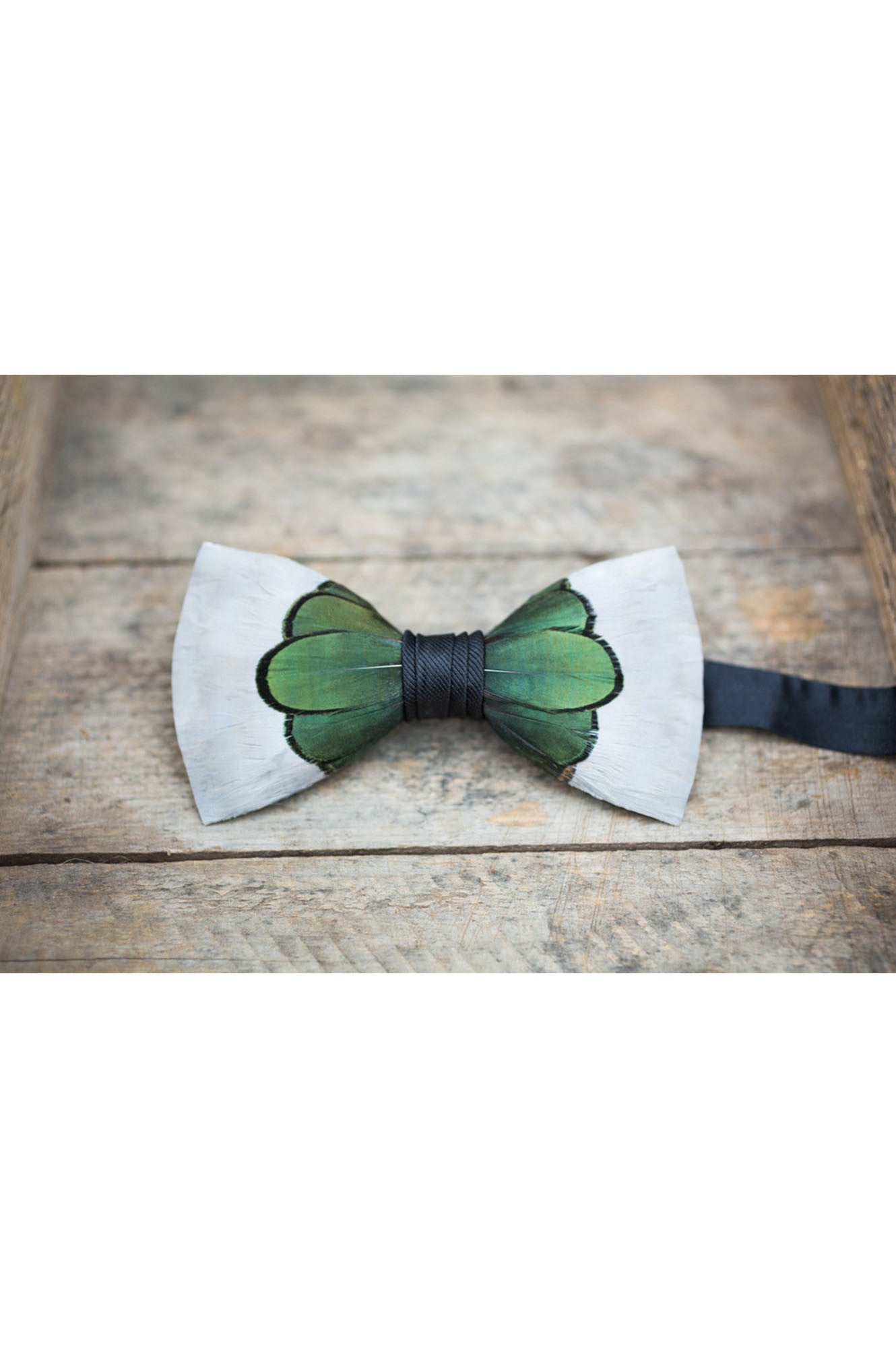 ROOSEVELT FEATHER BRACKISH BOWTIES