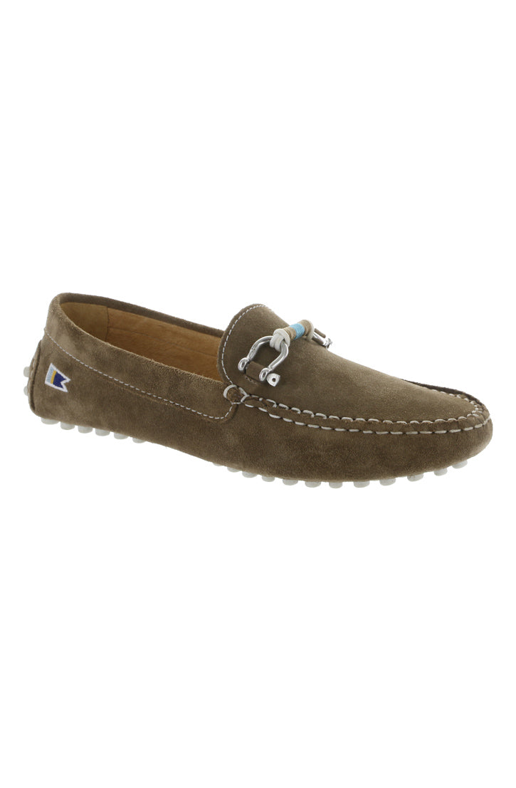 WOMEN'S DECK DRIVER SHOES - OSPREY SUEDE