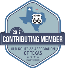 Contributing Member badge Old Route 66 Association of Texas