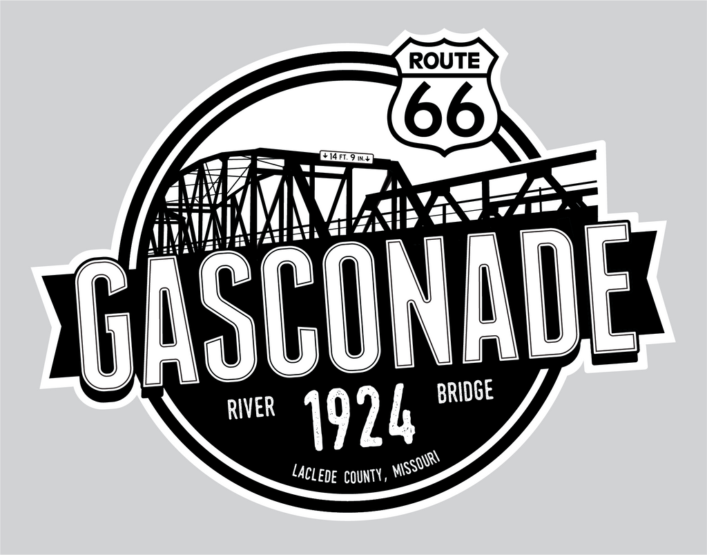 Gasconade Bridge Window Cling