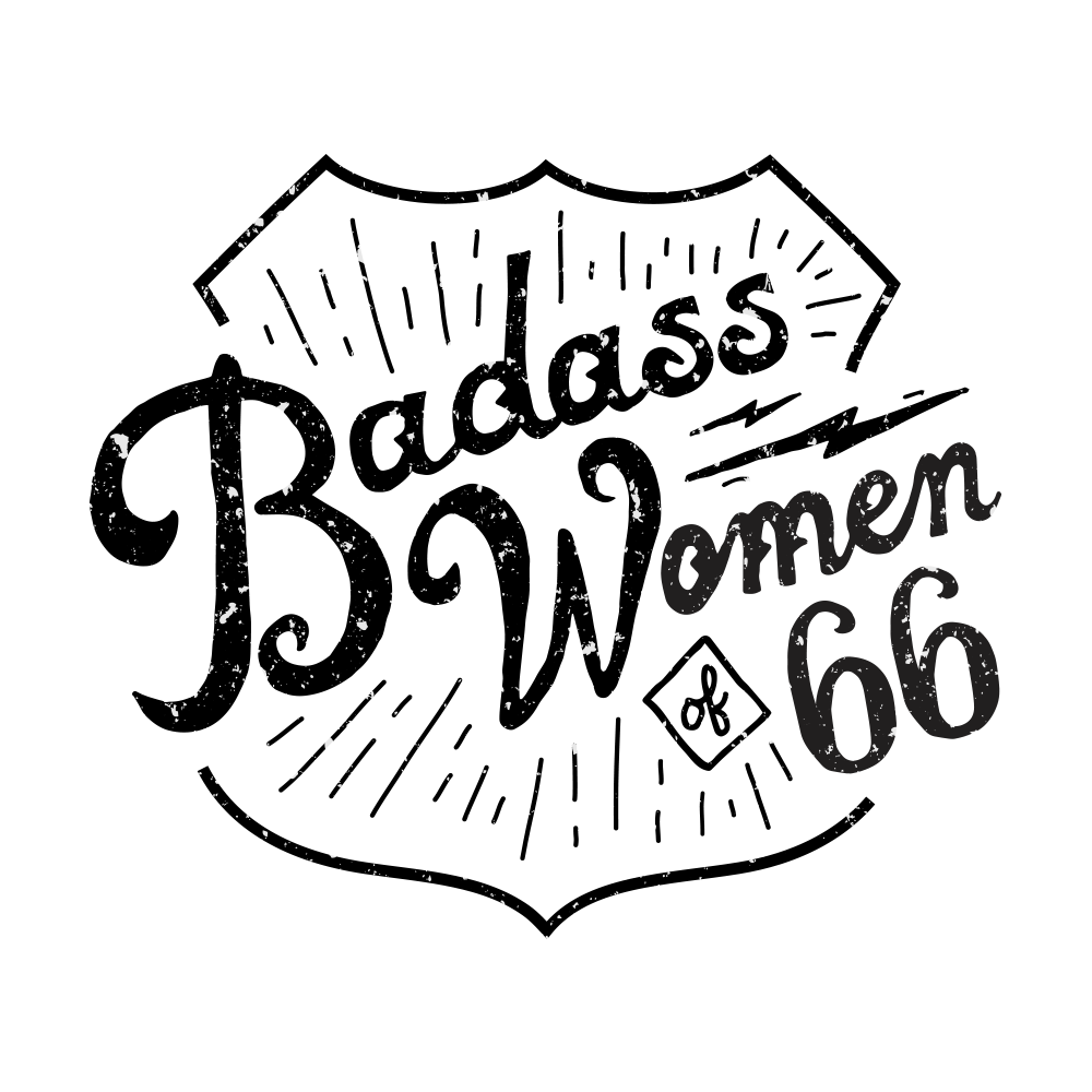 Badass Women of 66 Vinyl Decal