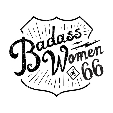 Badass Women of 66 Window Cling