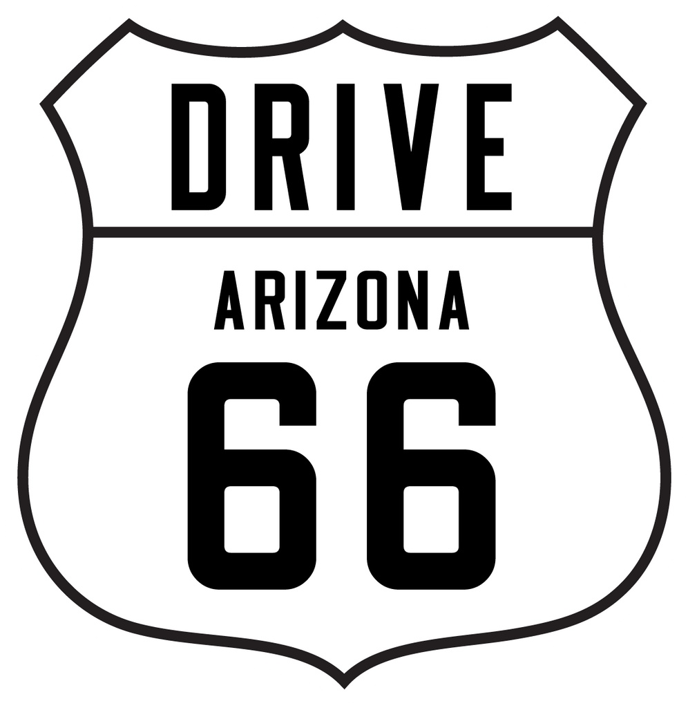 Drive 66 Window Cling - Individual States