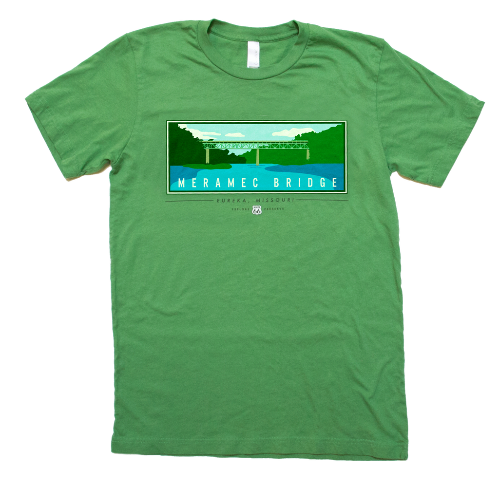 Meramec Bridge Short Sleeve T-Shirt