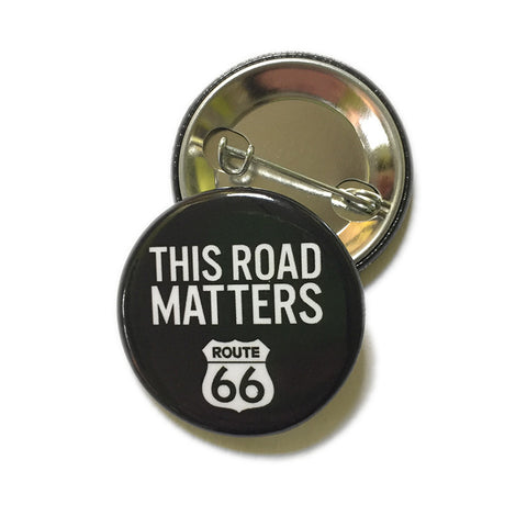 This Road Matters Button