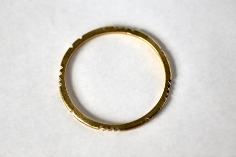 handmade brass bangle bracelet