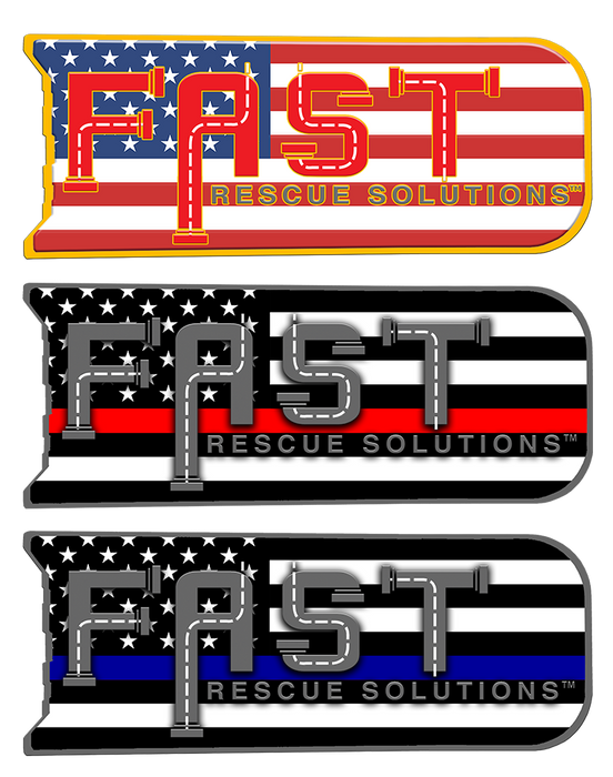 FAST Flag Decal